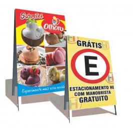 Cavalete Premium Lona 440 gr