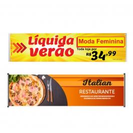 Faixa Lona 440 gr Premium Lona 440 gr