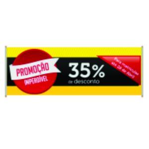 Faixa Lona 440 gr Premium - LAMINADA