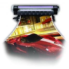 LONA BRILHO 280 gr premium - GRANDE FORMATO Lona 280 gr   Lona Brilho Sem Refile